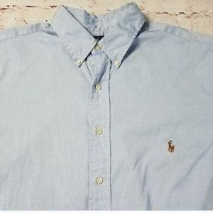 Ralph Lauren Shirts - Polo Ralph Lauren Long Sleeve  Blue Size 16 1/2